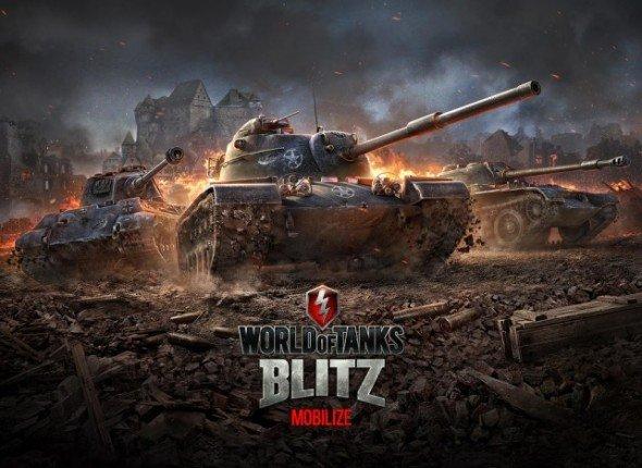 World of Tanks Blitz (WOT) взломанная модифицирование бери андроид.
