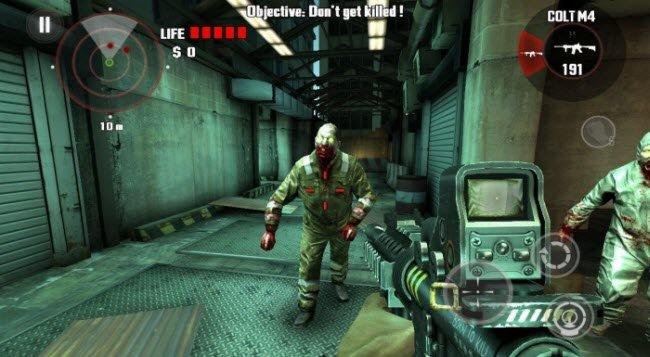 Взломанная Left 4 Dead на android (Мод: бесконечные жизни)