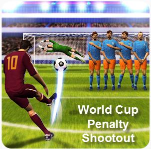 Забей одиннадцатиметровый во World Cup Penalty Shootout для андроид взломанная версия.