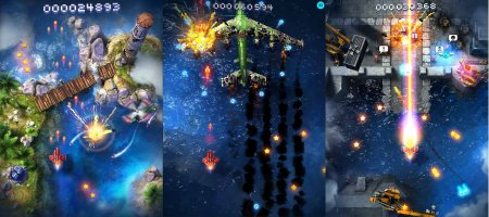 Sky Force 2014 1.33 (Мод: Бесконечные звезды)