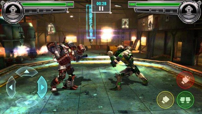 скриншот из игры Real Steel Champions