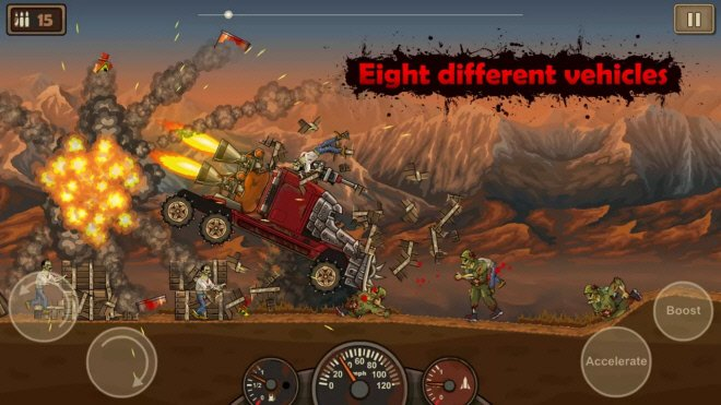 скриншот из игры Earn to Die