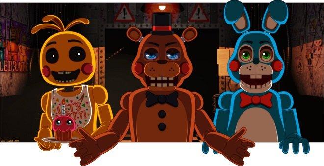 скриншот из игры Five Nights at Freddys 3