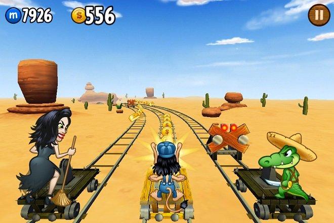 скриншот из игры Hugo Troll Race