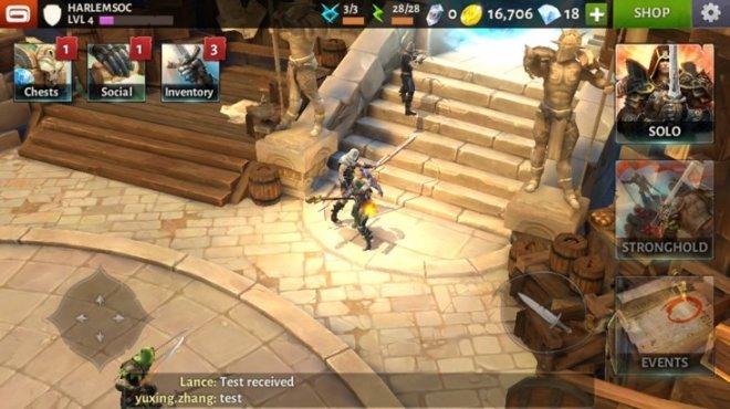 Dungeon Hunter 5 скрин из игры