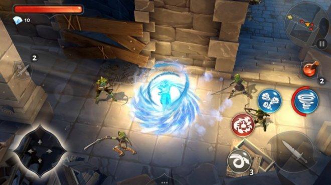 Dungeon Hunter 5 скрин из игры 3
