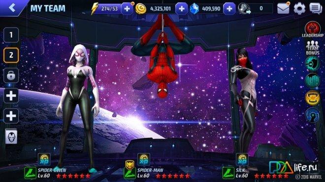 Скачать Игру Marvel Future Fight На Андроид Мод Много Денег - фото 6