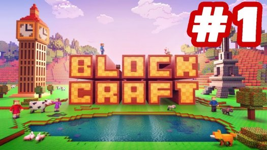Play Craft Block Building Exploration