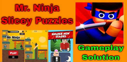 Mr Ninja - Slicey Puzzles