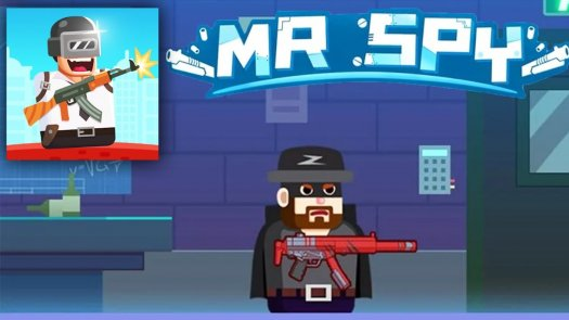 Mr Spy - Mr Bullet Superhero Adventure